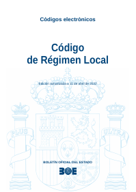 Código de Régimen Local