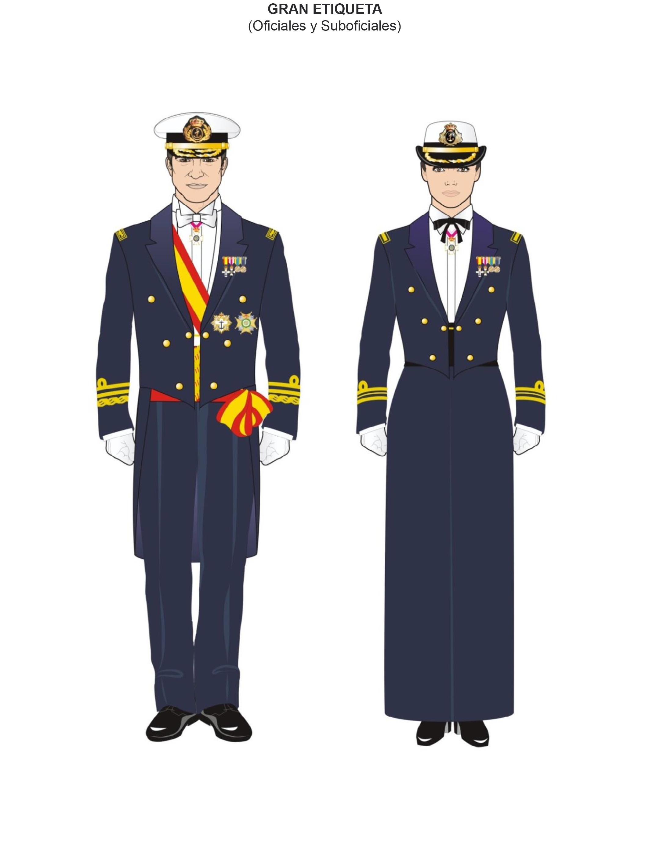 Servicio escolta trajes